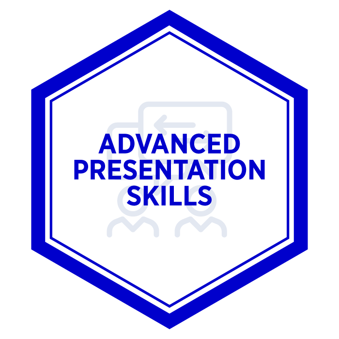 AIM Advanced Presentation Badge