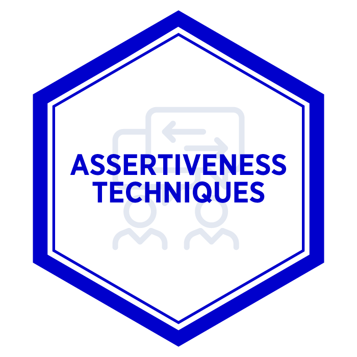 AIM Assertiveness Techniques Badge