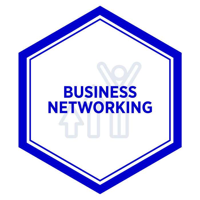 AIM Business Networking Badge