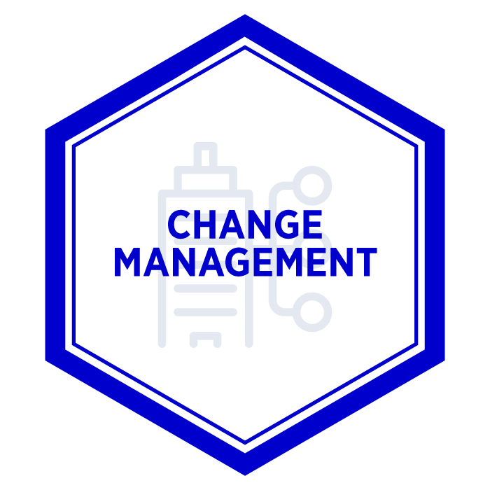 AIM Change Management Badge