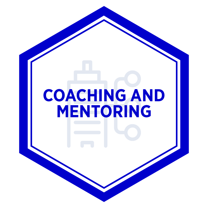 AIM Coaching and Mentoring Badge