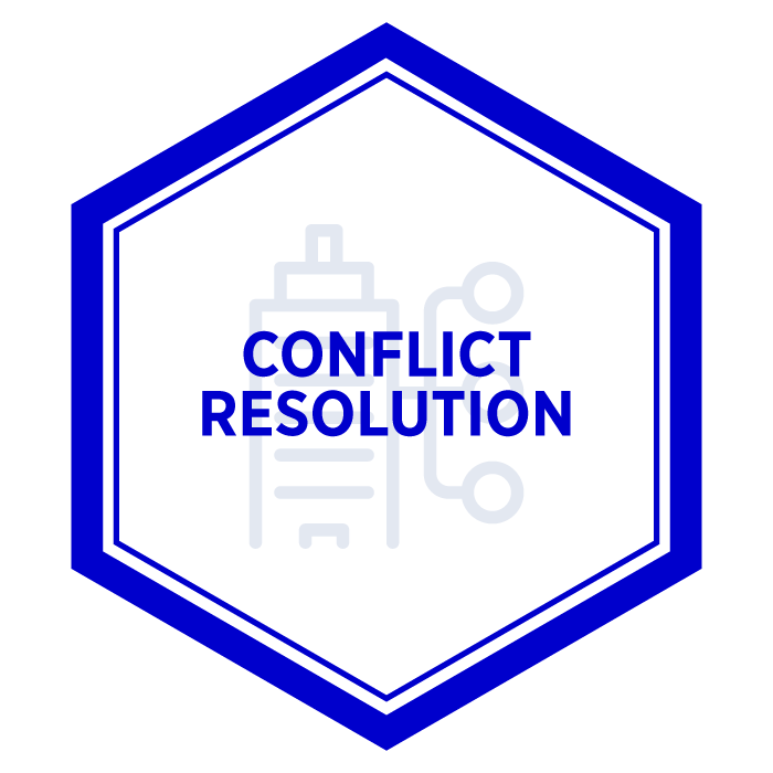 AIM Conflict Resolution Badge