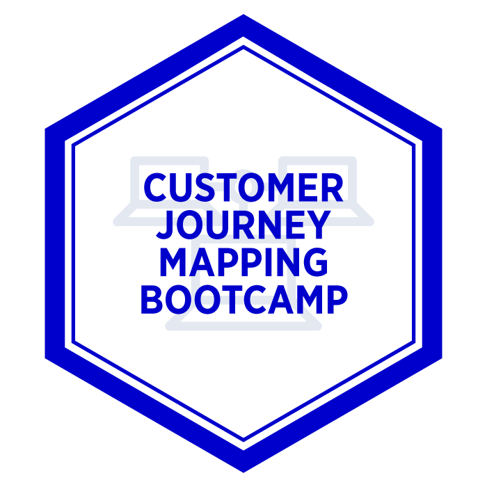Customer Journey Mapping Bootcamp Badge