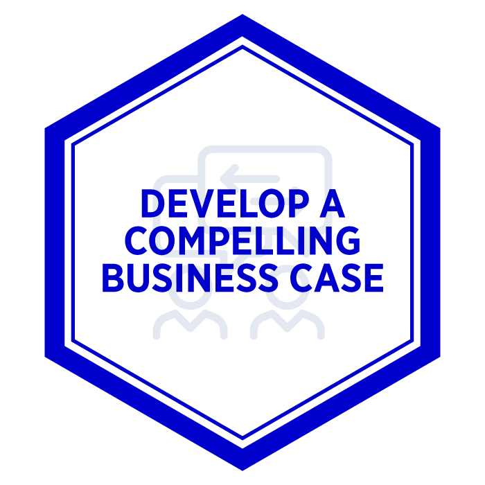 AIM Develop a Compelling Business Case Badge