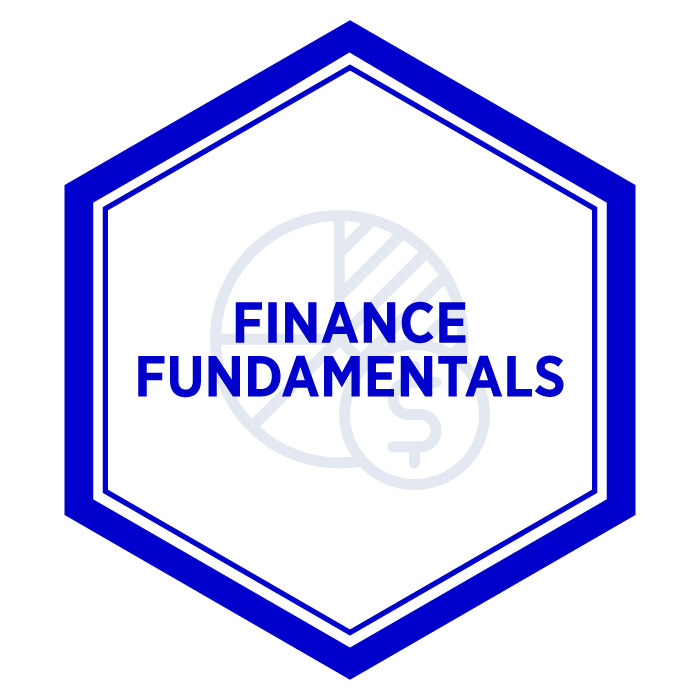 AIM Finance Fundamentals Badge