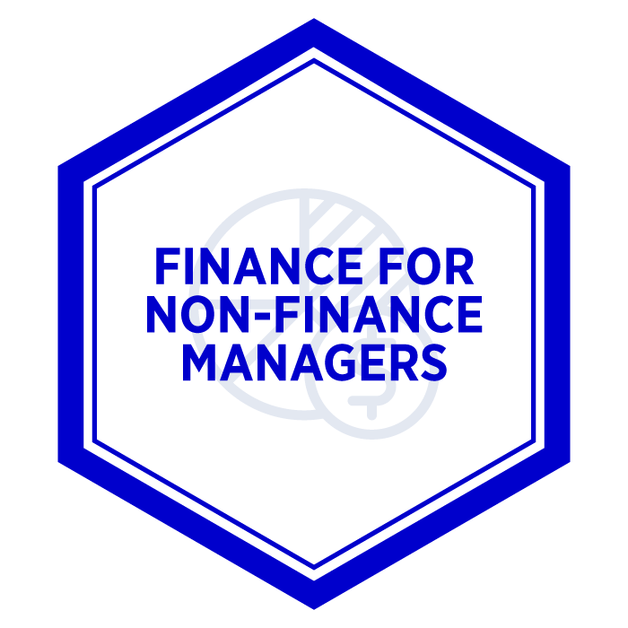 AIM Finance For Non-Finance Managers Badge