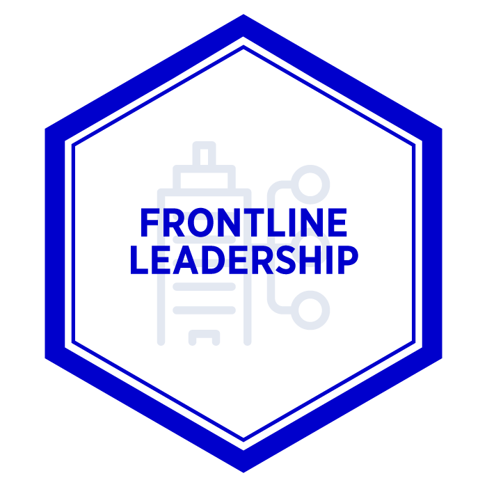 AIM Frontline Leadership Badge