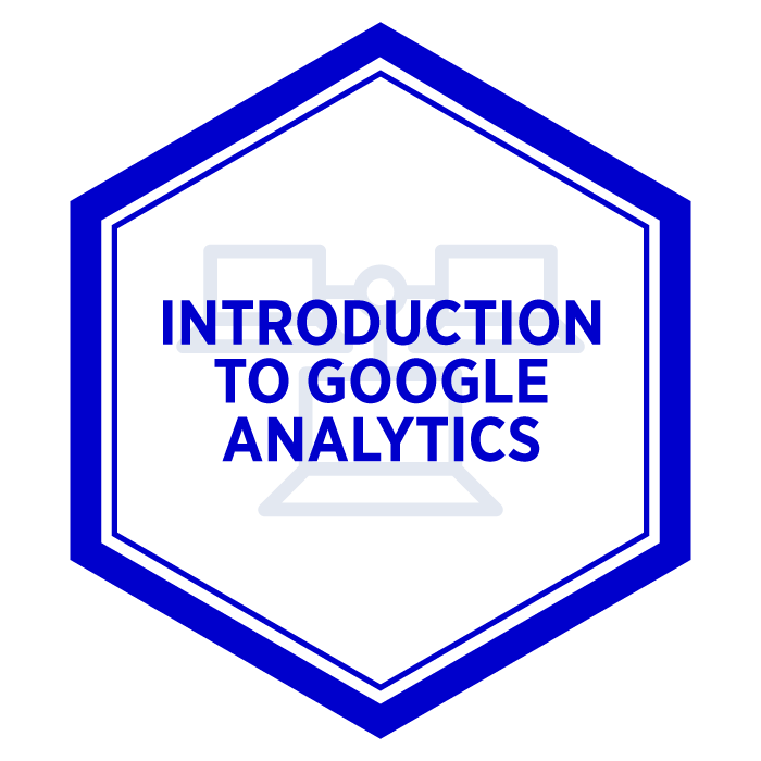 AIM Introduction to Google Analytics Badge