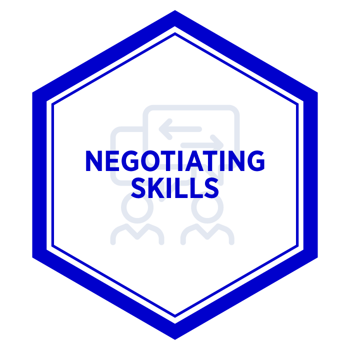 AIM Negotiating Skills Badge