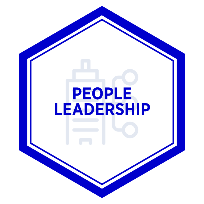 AIM People Leadership Badge