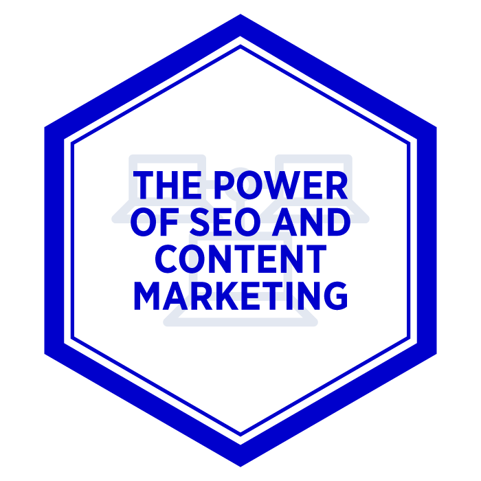 AIM The Power of SEO and Content Marketing Badge