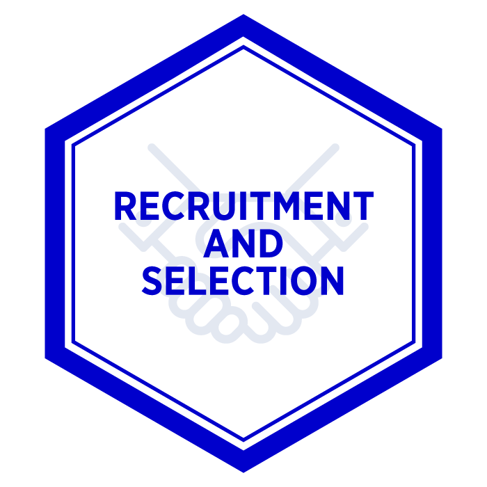 AIM Recruitment and Selection Badge