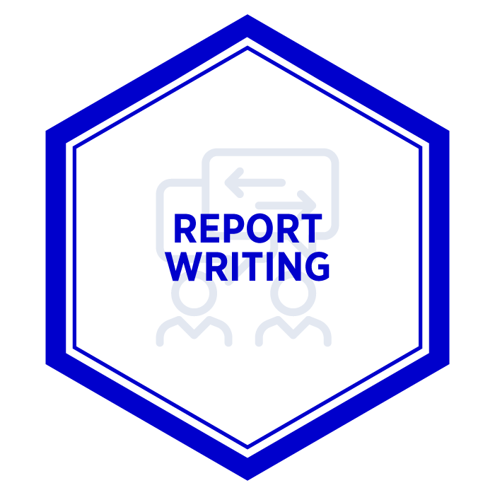 AIM Report Writing Badge