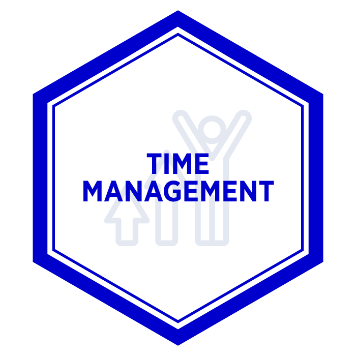 AIM Time Management Badge