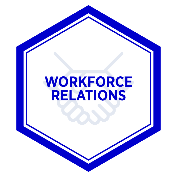 AIM Workforce Relations Badge