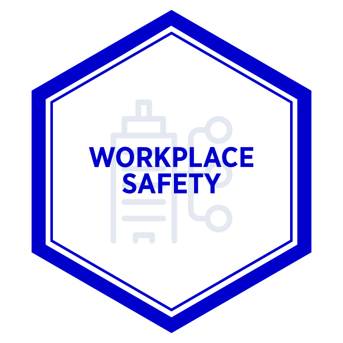 AIM Workplace Safety Badge