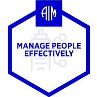 AIM Credentials - Manage People Effectively