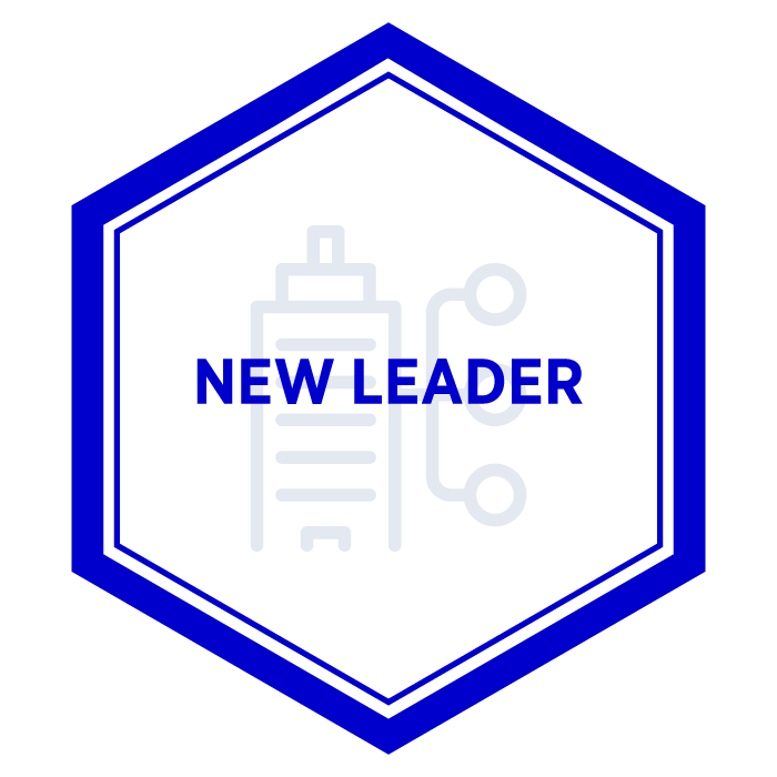 AIM New Leader Badge