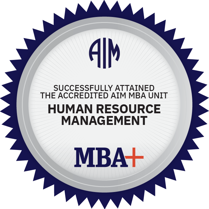 AIM Digital Badge Human Resource Management