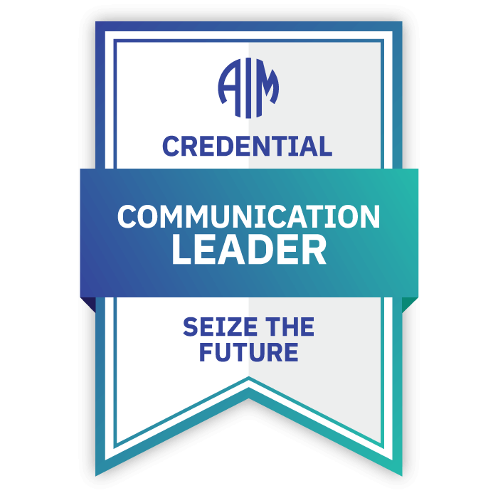 AIM Communication Leader Credential