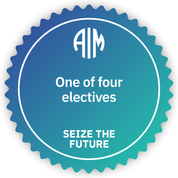 AIM Credentials - One of Four Electives