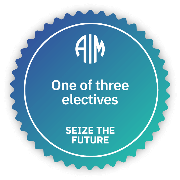 AIM Credentials - One of Three Electives