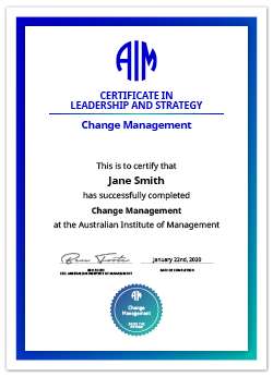 AIM Digital Certificate Change Management