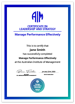 AIM Digital Certificate Manage Performance Effectively