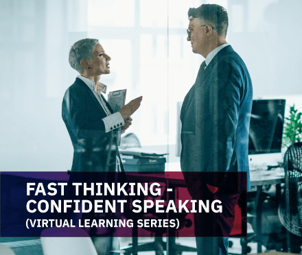 AIM Fast Thinking – Confident Speaking (Virtual) Course