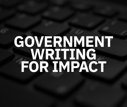 AIM Public Sector Government Writing For Impact Course
