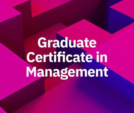 Graduate Certificate in Management