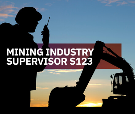 AIM Mining Industry Supervisor S123 Course