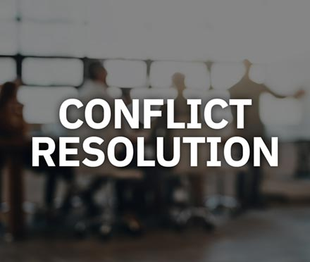 Conflict Resolutoin Short Course