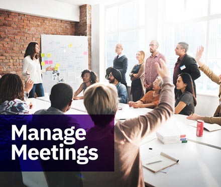 Manage Meetings Short Course