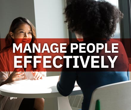 Manage People Effectively Short Course