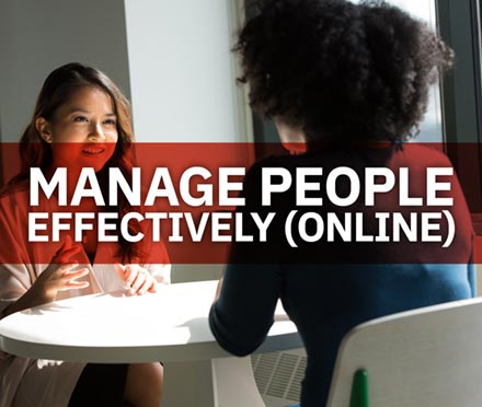 Manage People Effectively (Online)