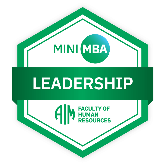 AIM Mini MBA Digital Badge - Leadership