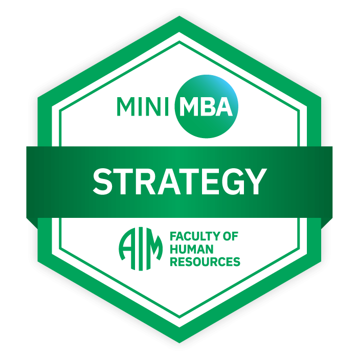 AIM Mini MBA Digital Badge - Strategy