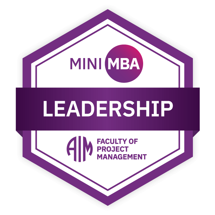 AIM Mini MBA Foundation Digital Badge - Leadership