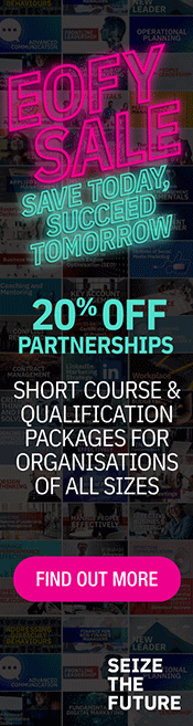 AIM EOFY Sale 20% Off Partnerships - Find Out More