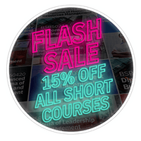 EOFY Flash Sale - Save 15% All Short Courses