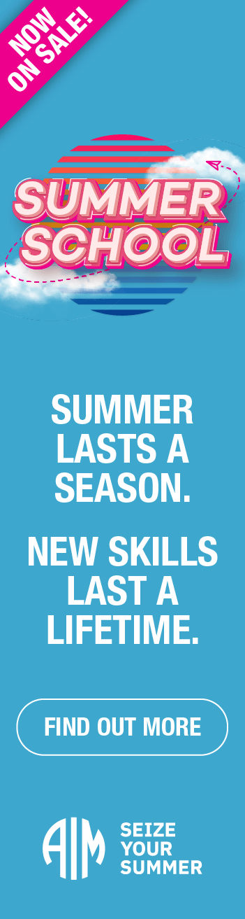 AIM Summer School - Find Out More