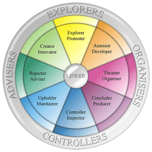 Team Management Profile Wheel