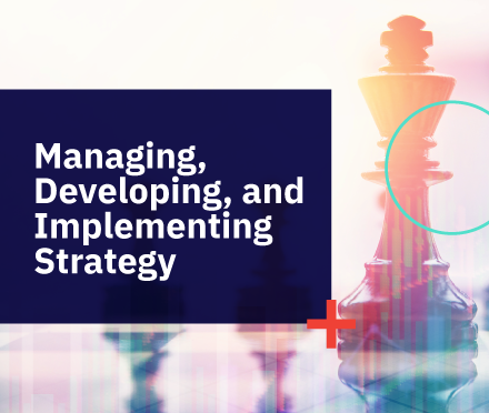 Managing, Developing, and Implementing Strategy