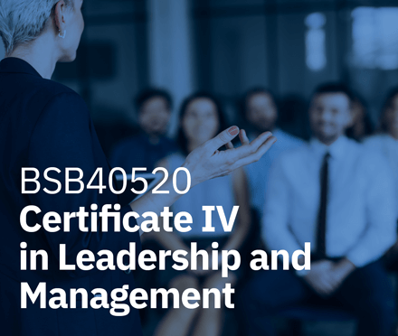 AIM Certificate IV in Leadership and Management
