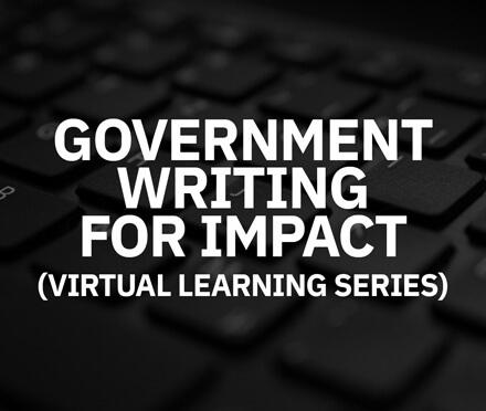 AIM Public Sector Government Writing For Impact (Virtual) Course