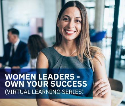 AIM Women Leaders: Own Your Success Virtual Learning Series