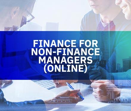 Finance For Non-Finance Managers (Online)