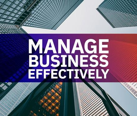 Manage Business Effectively Short Course