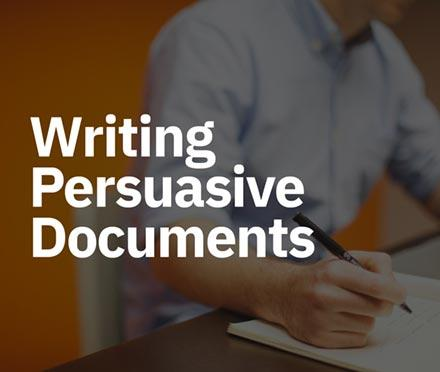 Writing Persuasive Documents Short Course